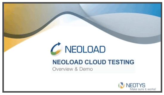 Neoload Cloud Testing